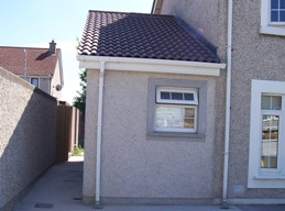 Wheelchair accessible house extension in Priorswood, Dublin 17